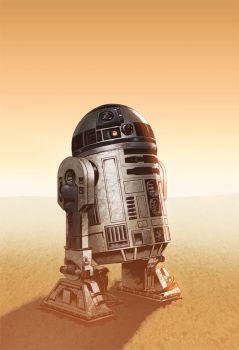 R2d2 By Fr3d L4ng by Eddy-Swan-Colors