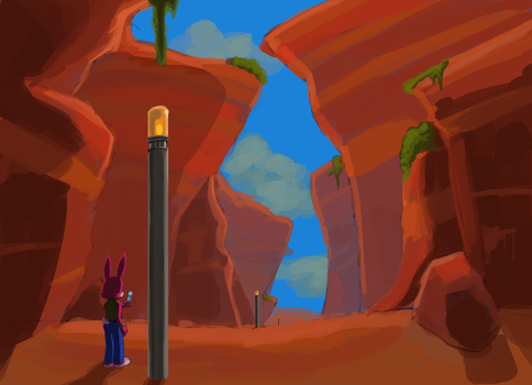 Red canyon by SuperLeon
