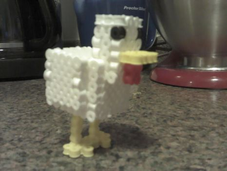 3D Minecraft Chicken - Prototype by PixelSculptures
