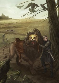 The Lion and The Knight by jessicakholinne