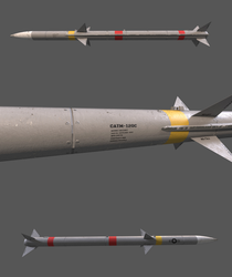 AIM-120C AMRAAM (Download) by planetrix15