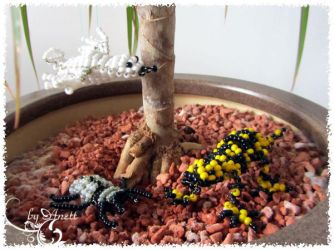 bead animals by Marsie-HST