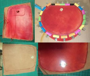 comission - rust / red bag - 05 by armourplatedlegion