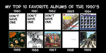 My Favorite Albums of the 1960's by JackHammer86