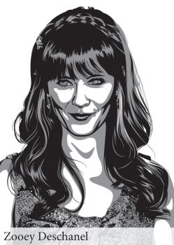 Zooey Deschanel by lille-cp