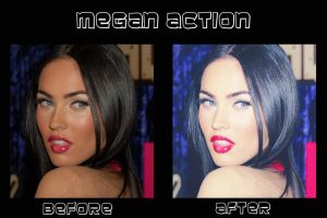 Megan Action by Megandreamer