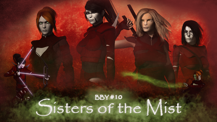 Sisters of the Mist Cover Art - Wallpaper by Crimsonight