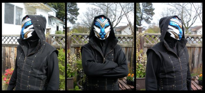 Alien Assassin Mask by ScribbleFox