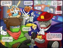 Rescue Bots -Learning Halloween- by SolarGirlMina