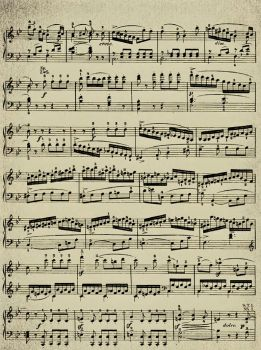 Vintage Texture III: Music by MGB-Stock