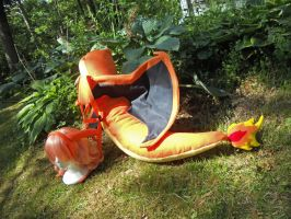Charizard Wings Tail and Knobs by Hop-is-my-Hero