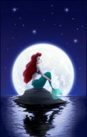 Ariel Moonlight by madam-marla