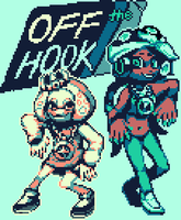 off the hook pixel! by neo-zoid