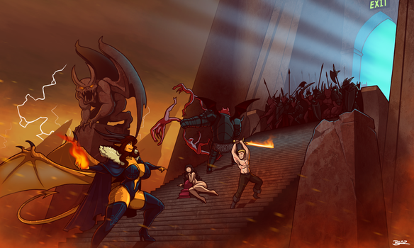 Escape from Hell by Blazbaros