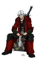 Dante colored by GravedFish