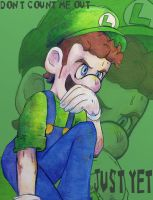 Don't Count Luigi Out Just Yet by ManuelMishonu