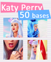 Katy Perry icon bases by snappedbeat