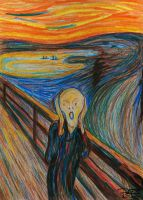 The Scream by artbypaulfisher