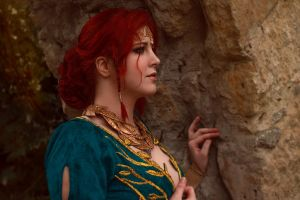 Teaser Triss Merigold from The Witcher:Wild Hunt by ZyunkaMukhina