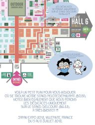 Plan Japan expo 2012 by patriciaLyfoung