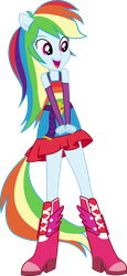 Rainbow Dash Dance Vector UPDATE V2 by icantunloveyou