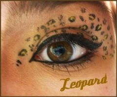 Animal Print Makeup: Leopard by Steffmiesterx13