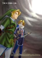 This is Hyrule, Link by eERIechan
