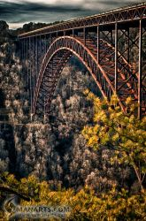 New River Gorge Bridge by sumanprajapati