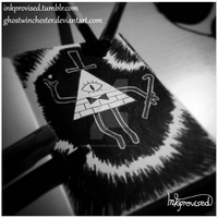 Bill Cipher by Ink-provised