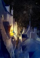 Rooftop stories by PascalCampion