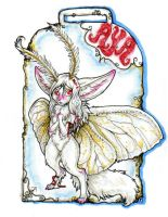 Moth Aya Badge by v-e-r-a