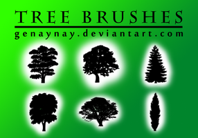 Tree Photoshop Brushes by GENAYNAY