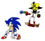 Sonic vs N. Cortex by DrSpeed