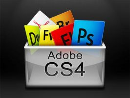 Adobe CS4, CS3 Docklet Icon by deviant-Rashy