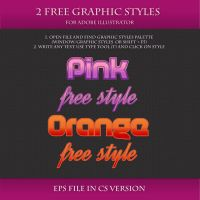 FREE Graphic Styles for Adobe Illustrator #1 by Love-Kay
