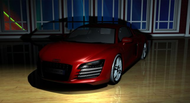 Audi R8 by TheRedCrown
