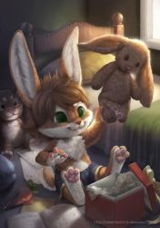 Commission for Flip Bunny by Silverfox5213