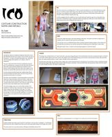 Ico Cosplay - costume details by IscahRambles