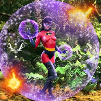 The incredibles Violet Nichameleon by bandro