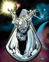Silver Surfer by RossHughes