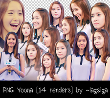 PNG Yoona [14 renders] by ~lagsiga by lagsiga