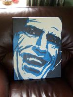 Keith Richards Stencil by Zombie-Pacman