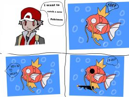 Magikarp comic by jomy10