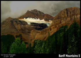 Banff Mountains 5 by KSPhotographic