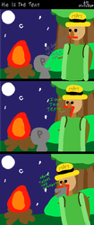 (VORE JOKE COMIC) he is the tent by HTFW