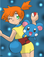 Misty and Azurill