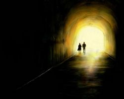 Light At the End of the Tunnel by FridayNightAlone