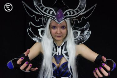 Syndra Cosplay 3 by MyuIlliegon