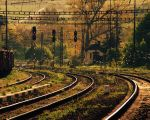 Late light on rail by r3akc3