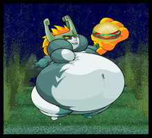 Fat Midna. by Virus-20